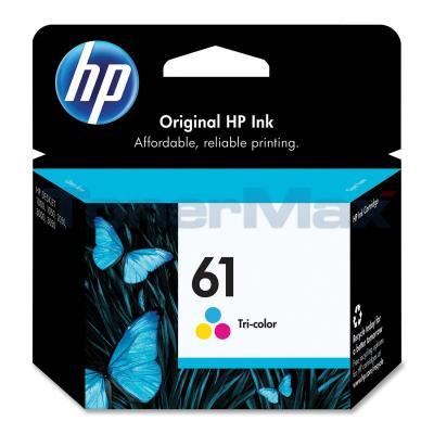 HP NO 61 INK CARTRIDGE TRI-COLOR